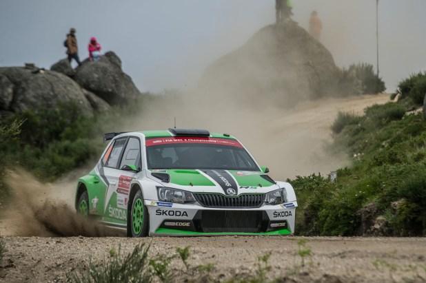 Skoda Fabia R5 WRC Rallye de Portugal