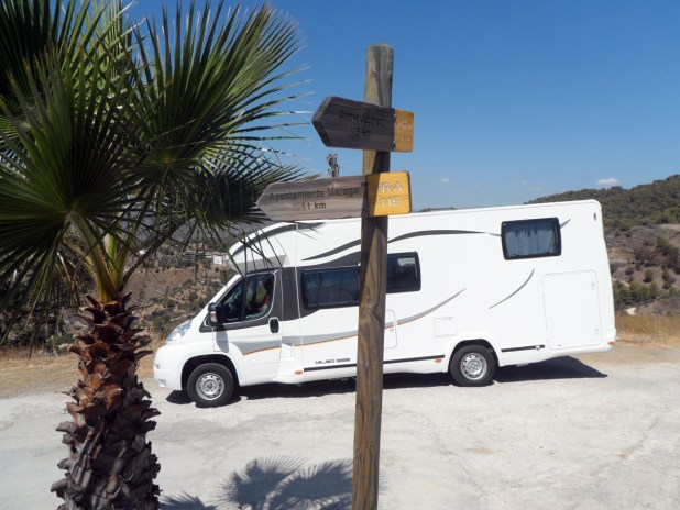 Autocaravana Montes de Málaga