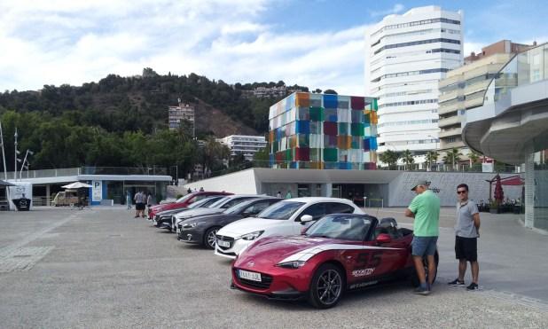 Mazda en Muelle 1