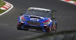 Subaru STI WRX en Nurburgring