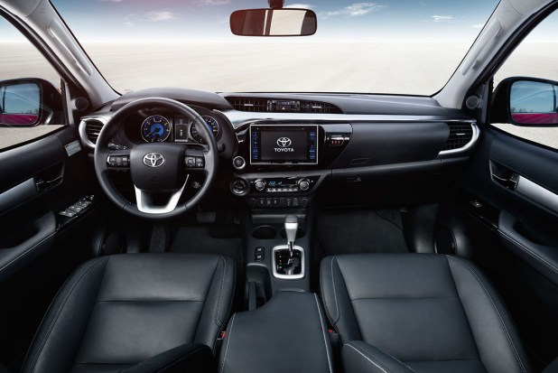 Nuevo Toyota Hilux Pickup interior