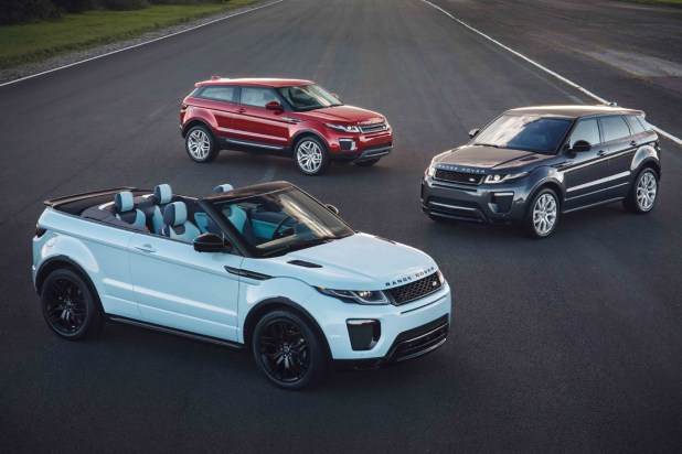 Gama Land Rover Evoque