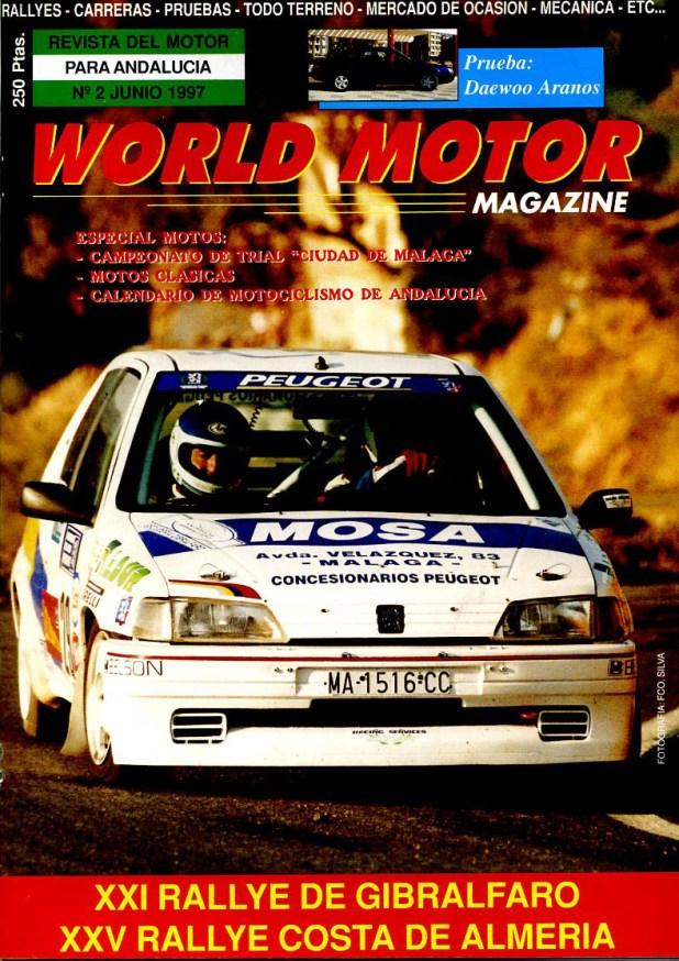 Portada World Motor Magazine número 2