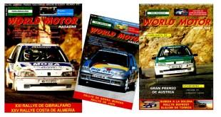 Portadas Revista World Motor Magazine