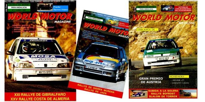 Portadas Revista World Motor Magazine