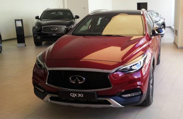 El QX30 viene a completar la gama SUV de la marca Infiniti.