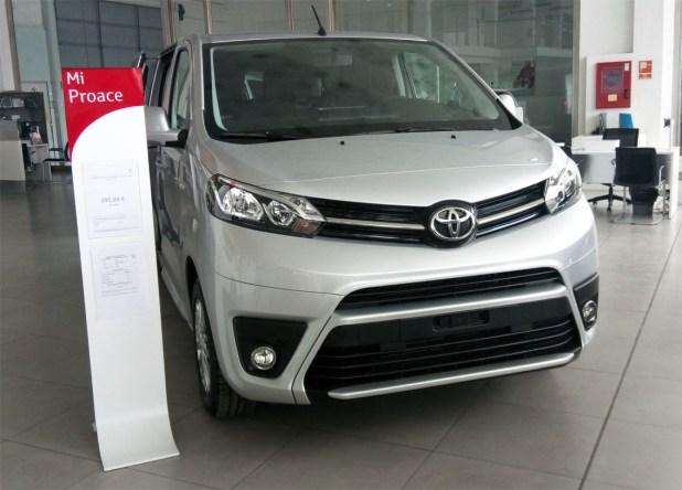 El Toyota Proace Verso es un monovolumen de gama alta