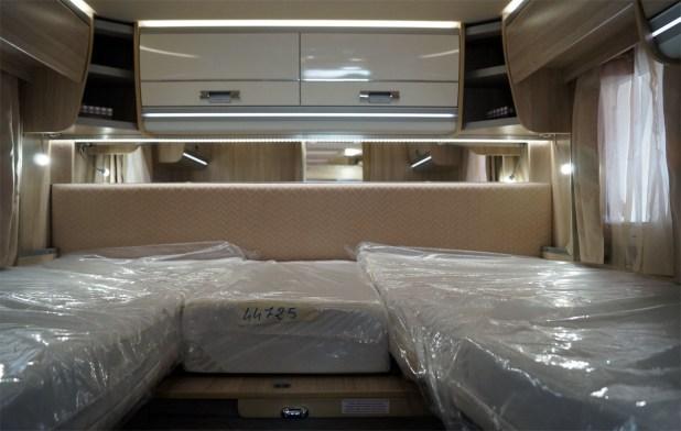 Dormitorio autocaravana Laika Ecovip 709