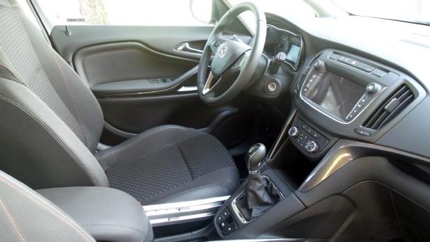 Interior Opel Zafira Tourer