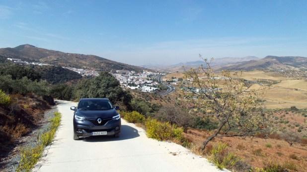 Renault Kadjar en los Montes de Málaga