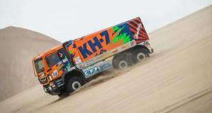 Juvanteny termina el Dakar rescatado en helicóptero