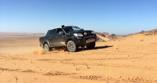 El equipo malagueño Team Salru Competición continúa con su preparación en tierras africanas