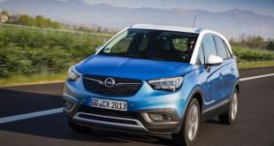 Opel presenta la versión GLP Autogas del Crossland X