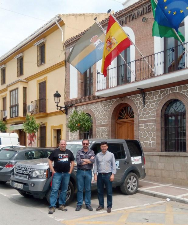 Julio Álvarez, Alejandro Triviño, Antonio Alés Montesinos.
