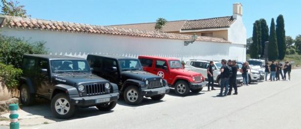 Ruta 4x4 Jeep Fimálaga Venta Galwey