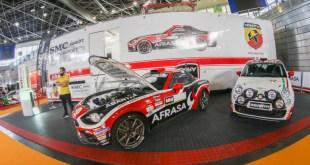 El equipo Abarth Rally acude al Salón del Automóvil de Competición