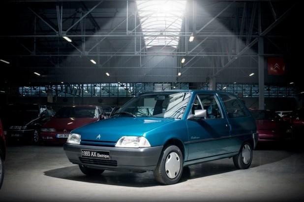 Citroën AX Eléctrico de 1993.