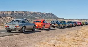 Amantes del Opel GT recorren la legendaria Ruta 66