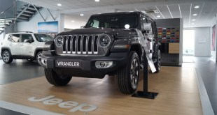 Ya se encuentra en las instalaciones de Fimálaga el nuevo Jeep Wrangler