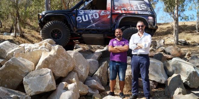 Manuel Campos, organizador del Campeonato Ibérico 4x4 Mijas 2018, y Alejandro Triviño, responsable, Revista Málaga Motor.