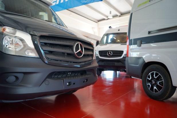 Autocaravanas Mercedes