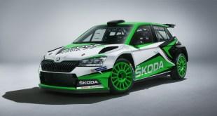 Skoda actualiza el Fabia R5, su apuesta para el Campeonato del Mundo de Rallyes