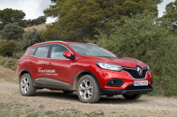 """Nuevo Renault Kadjar durante la preparación de la ruta para el concurso """"Escápate a la Realidad""""."""