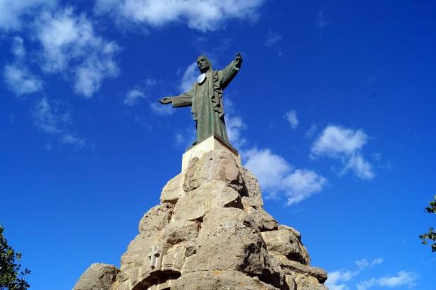 Sagrado Corazón de Jesús en la sierra de Pizarra (Málaga)