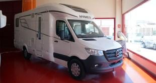 Autocaravanas Hidalgo recibe la nueva Hymer Clase B Modern Comfort T
