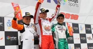 Segunda posición para el piloto malagueño Alberto Hurtado en el Campeonato de España de Karting