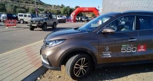 Grupo Cabello da a conocer el nuevo DFSK 580 en el Valle del Guadalhorce de la mano de la V Ruta Solidaria 4×4 Málaga