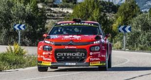 El equipo Citroën Rally Team, con C3 R5, se proclama Campeón de España de Rallies en la prueba disputada en Alicante