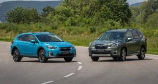 Tracción integral Symmetrical AWD, cambio automático, y un motor Boxer combinado con uno eléctrico, así es la nueva gama Híbrida de Subaru