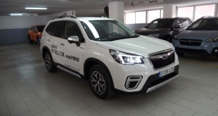 Automóviles Nieto recibe el Nuevo Subaru Forester Eco Hybrid, la apuesta de la marca japonesa en el mundo híbrido
