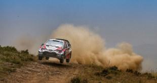 Toyota se prepara para participar en el Campeonato del Mundo de Rallyes 2020