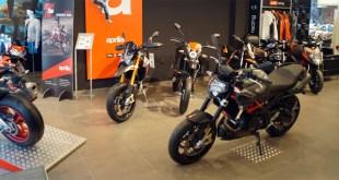 Las marcas Aprilia y Derbi, tanto en sus modelos de moto como de scooter, se presentan ahora con interesantes descuentos