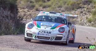 Victoria para José Antonio Aznar con Porsche 997 en el Rally de Carboneras