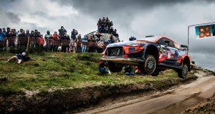 Dani Sordo afina su Hyundai i20 Coupé WRC en tierras portuguesas