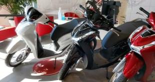 Servihonda recibe la nueva Honda SH125i  completamente renovada y con más y mejores prestaciones