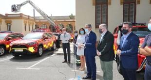 El Consorcio de Bomberos de Málaga confía en Toyota Cumaca Motor para la renovación de su flota