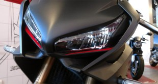 La espectacular y deportiva Honda CBR650R llega a las instalaciones de Servihonda