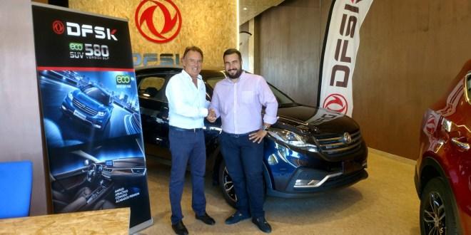 Miguel Cabello y Francisco Guillén, responsables del nuevo grupo de automoción CABMEI ICARS.