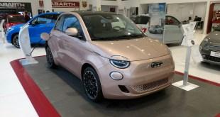 Torino Motor recibe el Nuevo 500e, el primer modelo de Fiat completamente eléctrico