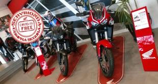 La Compra Segura y Libre de Covid-19 llega a Servihonda, concesionario oficial Honda Motos en Málaga y provincia