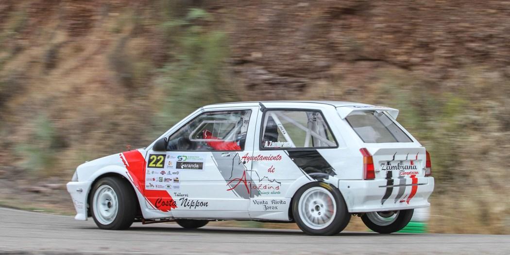 Antonio Zambrana, con Citroën AX Sport, uno de los pilotos que participará en la cita malagueña.