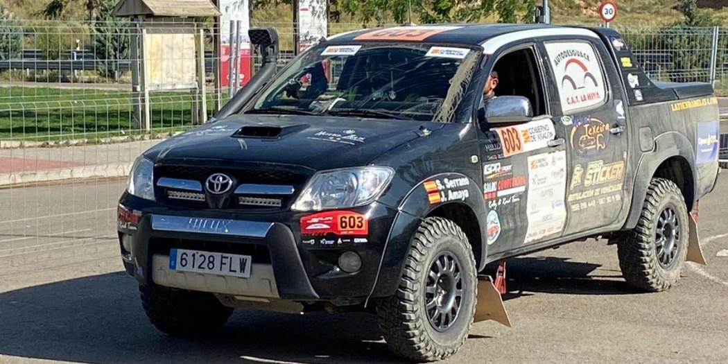 Toyota Hilux del equipo Team Salru Competición.