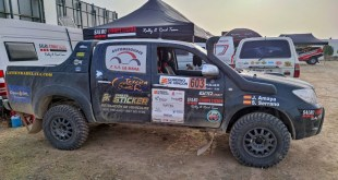 El equipo Team Salru Competición consigue la victoria en la primera etapa de la Baja España Aragón en la categoría de regularidad