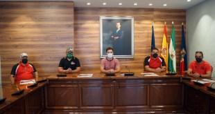 Presentación oficial de las pruebas Iberian King y Campeonato Extremo 4x4 en el Ayuntamiento de Torrox.