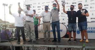 Podio para el equipo Team Salru Competición en el Rally Villa de Zuera 2021