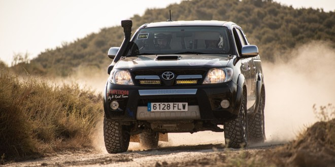 El equipo Team Salru Competición se prepara para su participación en el Rally de Guadalajara.